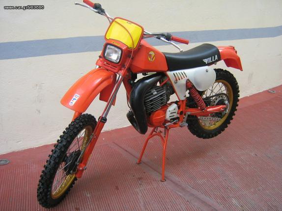Μοτοσυκλέτα motocross '78 ΜΟΤΟ VILLA