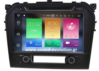 LM DIGITAL X571 SUZUKI VITARA '15> ANDROID 8/4GB RAM/8core www.sound-evolution.gr